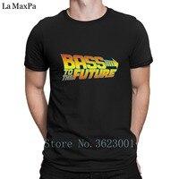 Personalizzato Casual T Shirt Bass To The Future Colorato T-Shirt Da Uomo Top Hiphop Grandi Dimensioni Tshirt Uomo Novità Tee Shirt Homme Divertimento