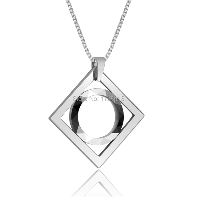 New Fashion Simple Style Tungsten Carbide Mens Pendant Male Necklace Accessories Hard Metal Jewelry Free Shipping