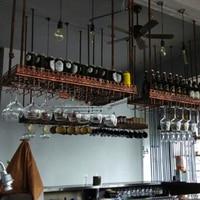 80*35 см Мода бар красное Вино Кубок держатель бокалов держатель висит стойке стены вина подставка держатель для чашек