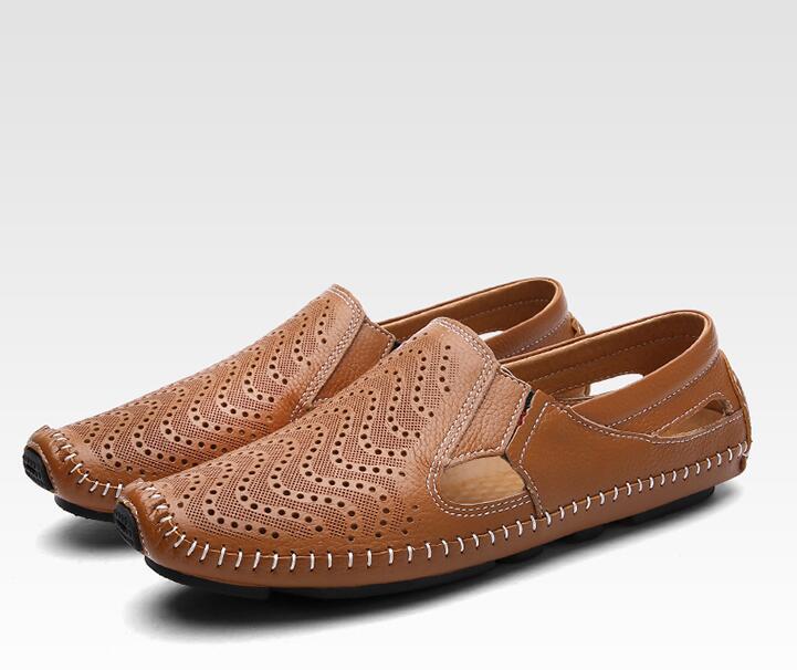 4 colores sandalias casuales de alta calidad Zapatos de vestir cómodos súper ligeros nuevos zapatos de playa de verano de moda para hombre-in Sandalias de hombre from zapatos    1