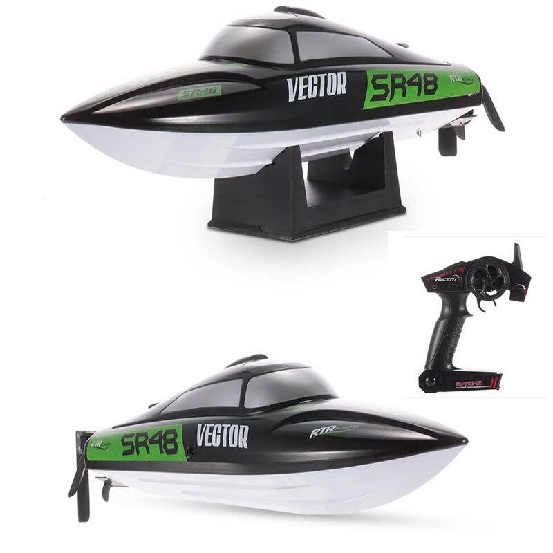 30 km/h bateau de course à grande vitesse 797-3 RC bateau de pêche brossé 2.4 GHz auto-redressement électrique hors-bord RC jouets cadeaux garçons