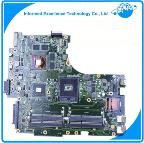 For ASUS N53SM N53SV REV2.0 Original Laptop Motherboard (Mainboard) 2G GT540M 4 RAM Slots Tested Well