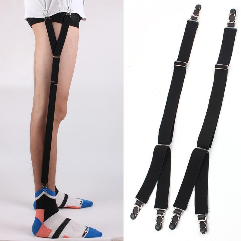 Men's Accessories Nice Unisex Business Shirt Stays Garters Leg Belt Suspenders Men Braces For Shirt Holder Tirantes Crease-resistance Sock Stirrup Superior Materials