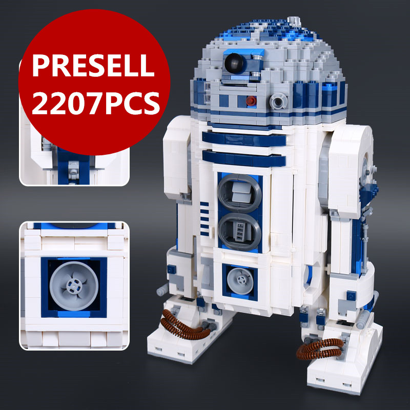 Lepin 05043 Star Toys Series wars The R2 Robot Set D2 Out of print Building Blocks Bricks legoing 10225 birthday christmas gifts optimal and efficient motion planning of redundant robot manipulators