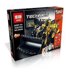 Per-sell LEPIN 20006 technic series L350F wheel loader Model Building Kit Minifigure Blocks Bricks Compatible Toy legeod 42030