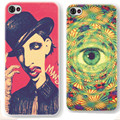 Personality Hard Back Cover Red Lip Big eye Case For iPhone 6s Printed Back Cover Mobile Phone Bag Phone cases 2016 New Arrival