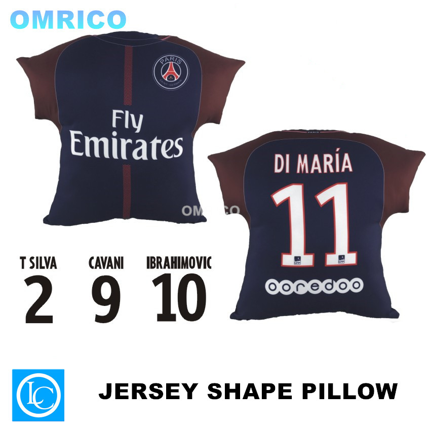 28fca3109 ... soccer T shirt Football (adult large) 1718 Paris Saint Germain Vehicle  Cover Case for Zlatan Ibrahimovic Fans Football Sourvenir Car Seat Cushion  ...