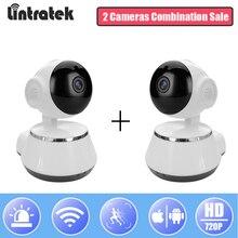 hot deal buy lintratek wi-fi mini ip camera 720p hd wifi ptz video surveillance onvif 2.0 wireless home camera baby monitor