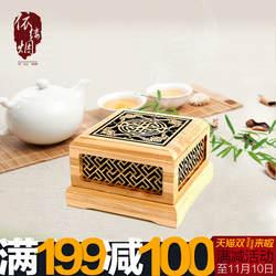 Силикон для литья камень Циклон Puxadores Bamboo Ладан коробка разматывателя алоэ горелки сандалового дерева свет простой, но элегантный