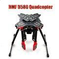 F11066 HMF U580 Totem Series RC Quadcopter 4 Ejes Plegable estante de Carbono Paraguas Tubo tren de Aterrizaje FPV Gimbal Mount + FS