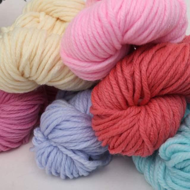 6250ecd8e93c Online Shop 250g ball Thick Wool Yarn For Hand Knitting Crochet ...