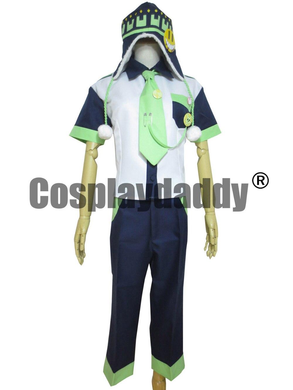 DRAMAtical Murder Noiz Cosplay Costume Free shipping A006 dramatical murder 1 7th scale aoba seragak