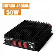 UHF Amplifier DHL E-EMS 450-460MHz Portable Radio Power FM Amplifier For Two Way Handheld Radio Walkie Talkie