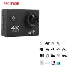 karue F60 / F60R 4K 30PFS 16MP WIFI Ultra HD Camera 1080P 60PFS 2 Inch Remote Control Waterproof Cam pro hero 4 Action Camera