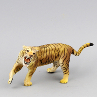 2015 Wild Animal French Papo Brand Animal Model Tigers Toy Model Diy Recolor The White Model