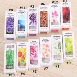 Heißer Verkauf 1 stück 10 ml Wasser-löslich Geschmack Öl Natürliche Pflanzen Aromatischen Duft Ätherisches Öl Spa Aromatherapie De -Stress Entspannen