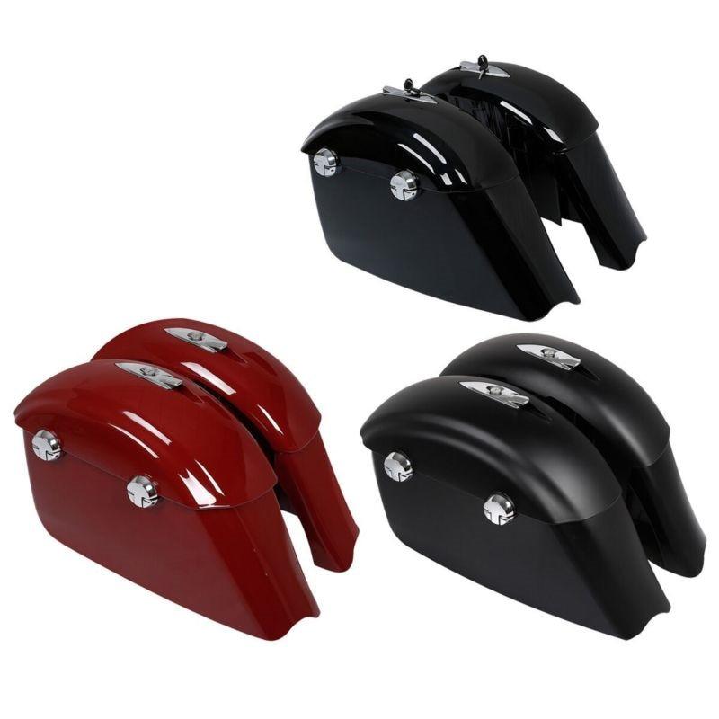 Sacoches électronique loquet couvercle pour indien chef noir cheval 16-18 3 couleurs Springfield classique moto accessoires