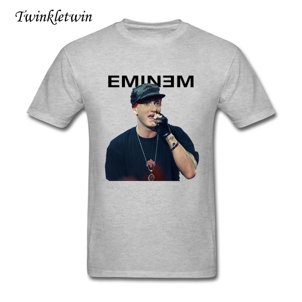 2018 Hot Sale Fashion Eminem Tee Shirt Design Mens Short Sleeves