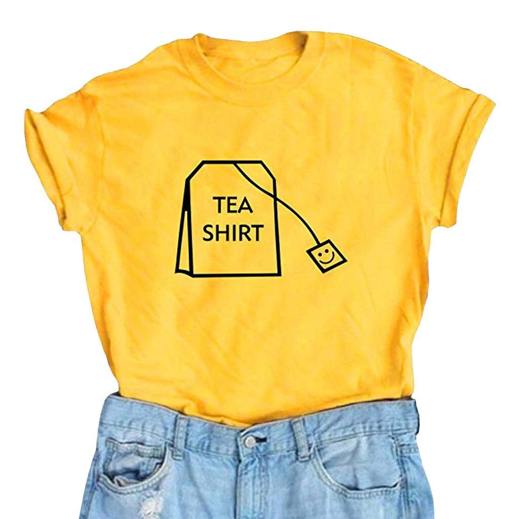 &40 T Shirt Gothic Women Girl Funny Short Sleeve Cotton Shirts Cute Junior Graphic Tee Top Harajuku Friends T Shirt Women Kawaii