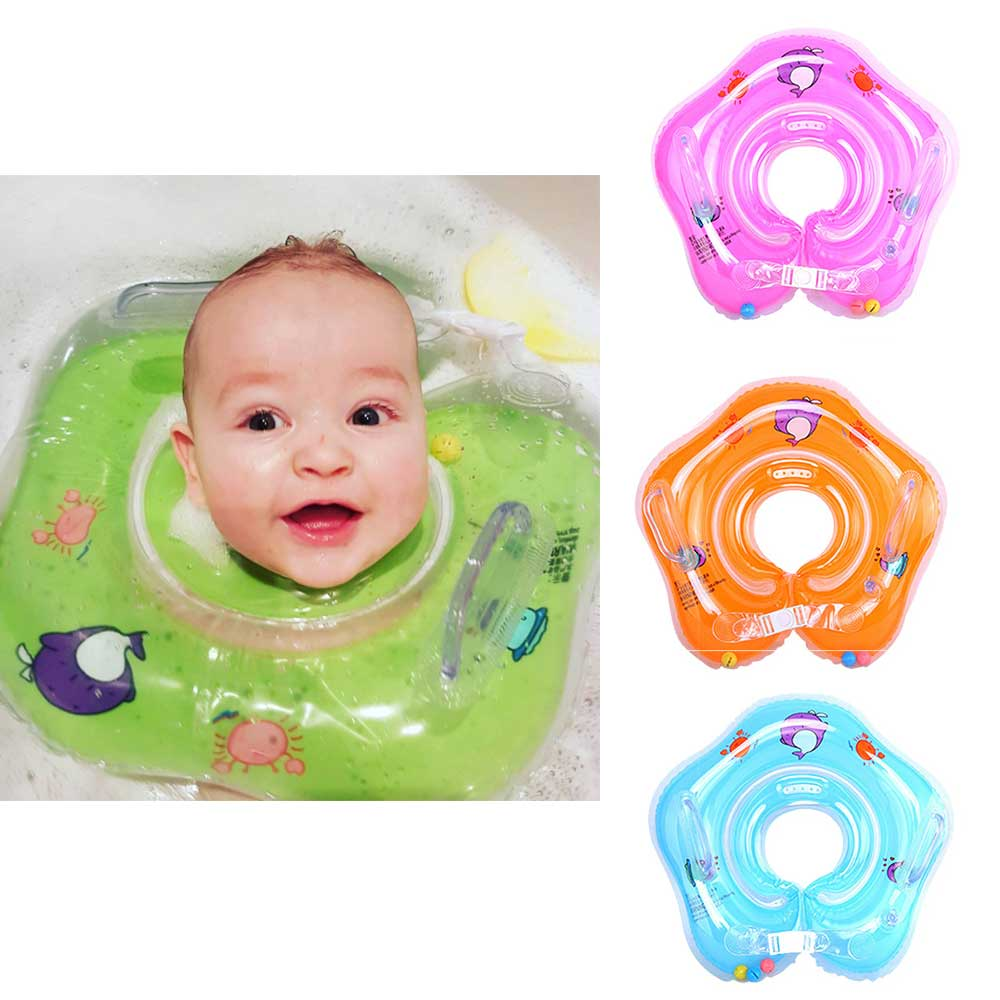Activity & Gear Swimming Pool & Accessories Inflatable Ring Kids Safety Swimming Inflating Wheels Mom Kids Double Person Swimming Rings Newborns Bathing Circles Summer Toys High Quality Materials