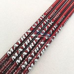 Image 2 - New Golf Clubs MATRIX OZIK HD4 16 corner Graphite shaft R or S Flex Golf driver wood shaft 8pcs/lot Free shipping