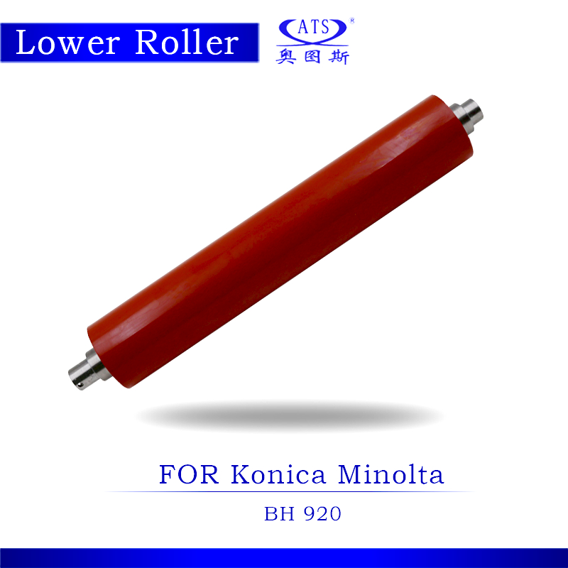 1PCS BH 920 Photocopy Machine Pressure Lower Fuser Roller For Konica Minolta BH920 Copier Parts 1pcs photocoier part pcr main charge roller charger compatable for canon ir3570 4570 copier machine