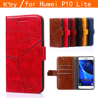 Huawei P10 Lite Case 2017 Luxury Flip Leather Case For Huawei P10 Lite Wallet Book Cover