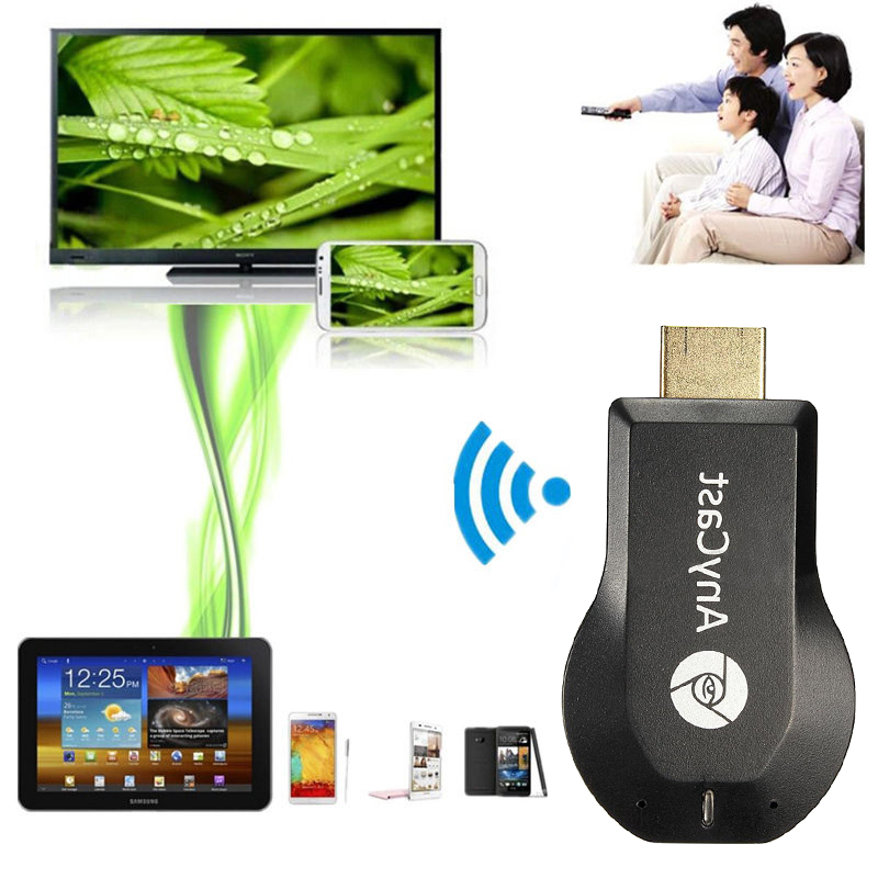 AnyCast TV Stick M2 Plus 2 Mirroring Mehrere Dongle Empfänger Drahtlose WiFi Display Mini PC Android Phone Chrome Cast