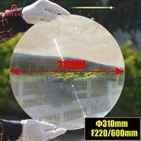 Fresnel Lens Diameter 310mm Focal length 220mm High light condenser fresnel lens solar energy collecting,stage light lens
