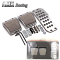 AMK racing-MUGEN pedal covers for civic series for manual transmission models car pedal covers Aluminum alloy material