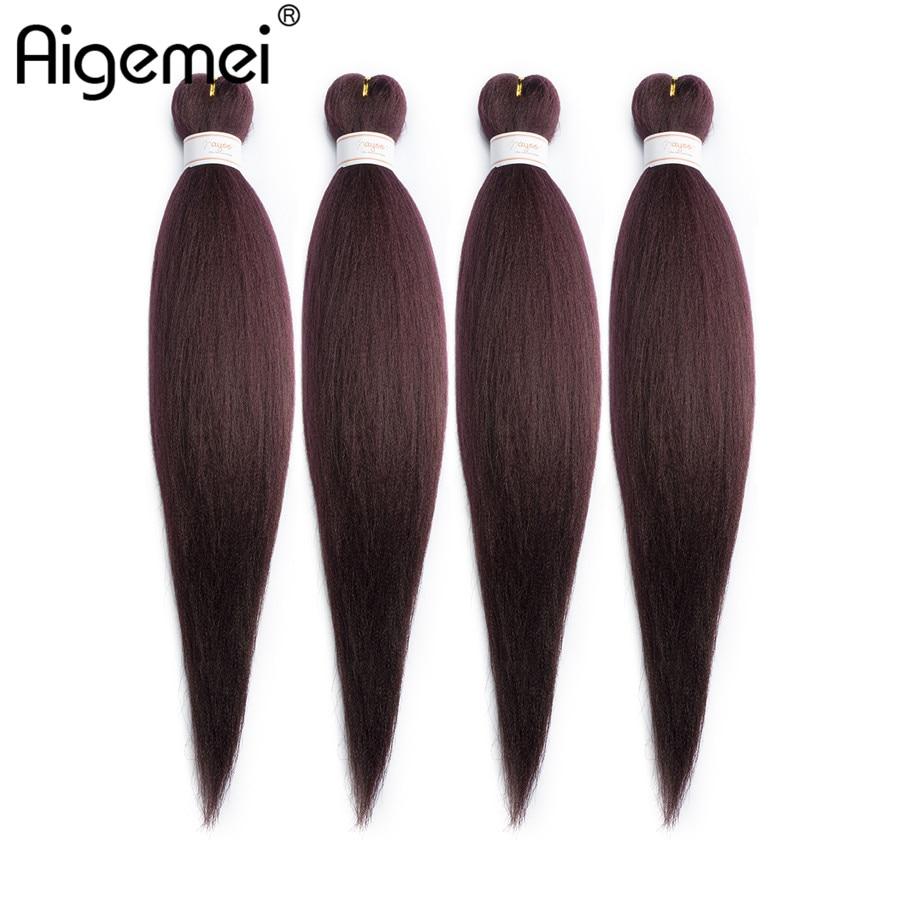 Jumbo Braids Aigemei Kanekalon Jumbo Synthetic Braiding Hair Crochet Hair Extensions Jumbo Braids Hairstyles 22 Inch 85g Five Colors Hair Braids