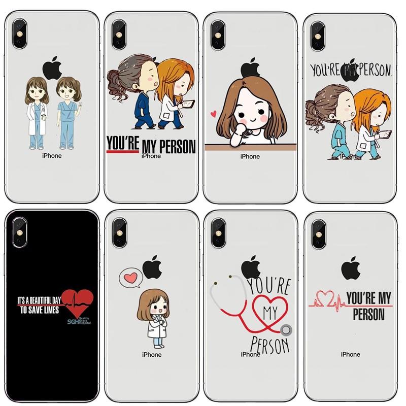 Cellphones & Telecommunications Phone Bags & Cases Spain Cartoon Medicine Doctor Nurse Transparent Soft Silicone Tpu Case For Iphone Xs Max 5c 4s 8 X 7 6 6s Plus 5 5s Se Xr Case