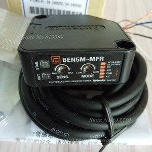 Image 5 - BEN5M MFR AC/DC Autonics Retroreflektif Fotoelektrik değiştirme sensörü Algılama 5 Metre Röle Çıkışı % 100% Yeni Yüksek Kaliteli