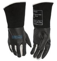 Black SOFTouch Argon arc Welding Glove TIG MIG MMA Grain Cow Leather Welding Work Gloves