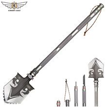 ALMIGHTY EAGLE Survival Tactical Shovel Multifunctional Spade Garden Tool Outdoor Camping Equipment