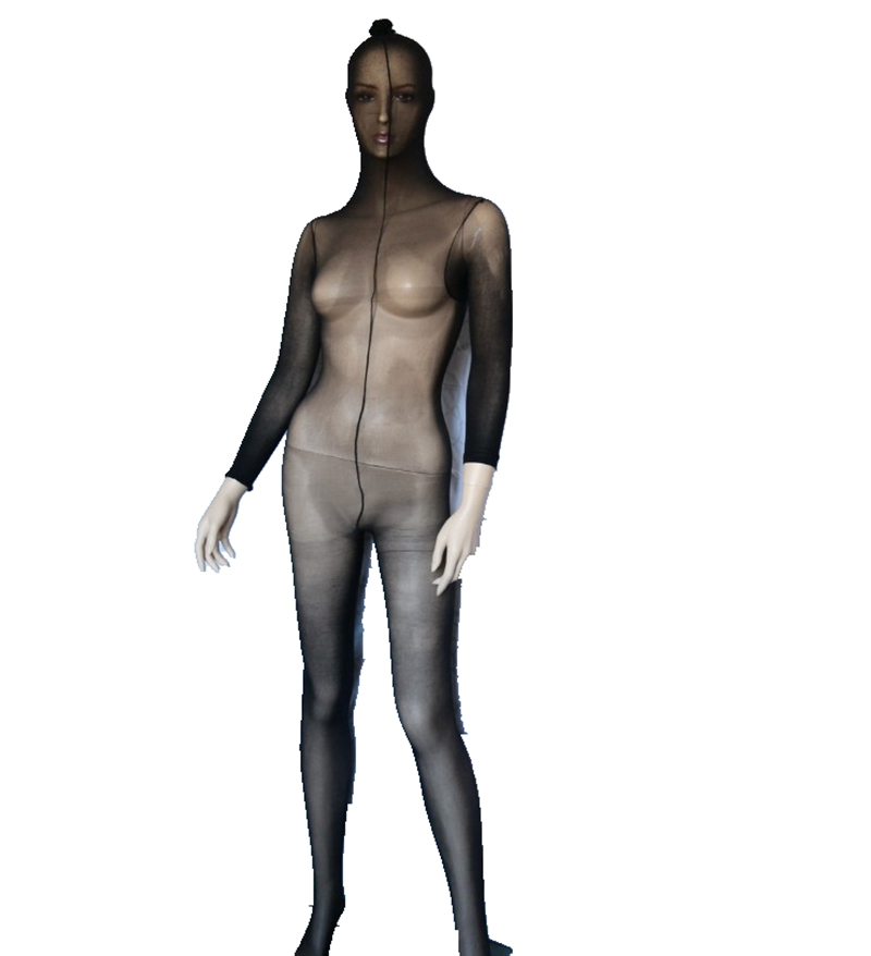 Full <font><b>Body</b></font> Men Women Pantyhose Tights Stocking Lingerie,<font><b>Sexy</b></font> Sheer Bodystocking Full Bodyhose Wrap Bodyhose image