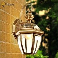 Steam punk Loft Industrial Golden Copper lamp wall lamps Vintage E27 LED sconce wall lights for living room bedroom bar