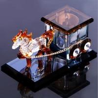 Automotive crystal carriage creative decoration perfume for ALFA ROMEO Mito 147 156 159 166 Giulietta Spider GT Car Accessories