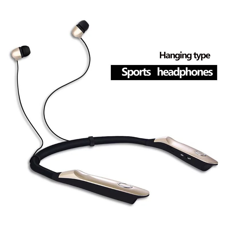 New HBS-900S HBS 900S Wireless Neckband Headset Sport Stereo Headphone In-Ear Earbuds Bluetooth Earphone For mobile phone universal led sport bluetooth wireless headset stereo earphone ear hook headset for mobile phone with charger cable