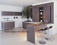 Melamine Mfc Kitchen Cabinets LH ME004