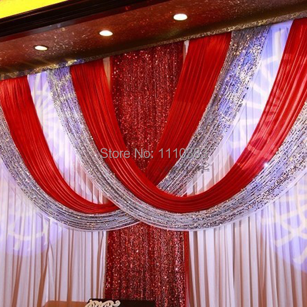 Curtains Ideas best curtain stores : Aliexpress.com : Buy 3M*6M Free Shipping Best Quality red Color ...