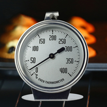 лучшая цена New 0-400 Degree High-grade Large Oven Stainless Steel Special Oven Thermometer Measuring Thermometer Baking Tool