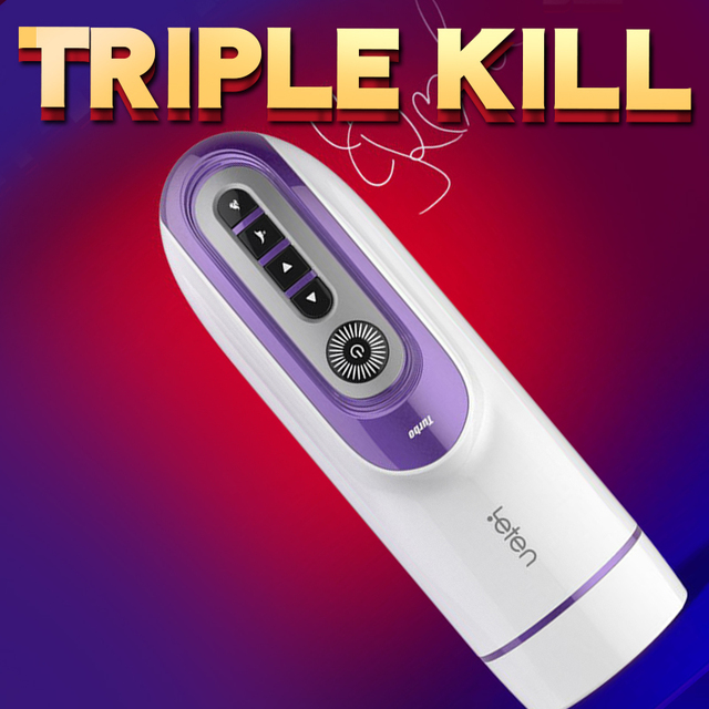 Piston Masturbator Retractable Vibrator Silicone Artificial Vagina Automatic Blowjob Voice Thrusting Massager Sex Toy for Men 6