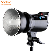 Free DHL Godox DE300 300W Professional Studio Flash Photography lighting Strobe Lamp GN58 for Portrait Art Product Photograhy