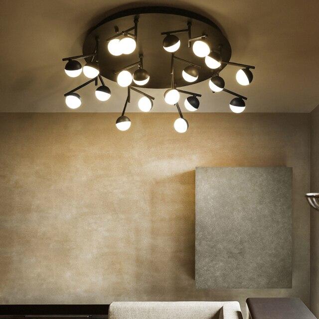 led postmodernen nodic eisen aluminium acryl molekl kronleuchter beleuchtung led lampe led ligh fr foyer - Kronleuchter Fur Foyer