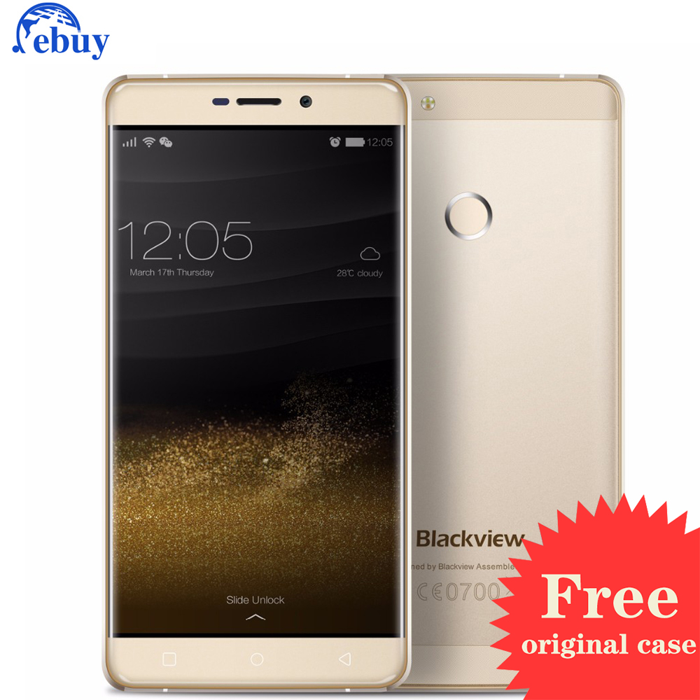 "Original Blackview R7 5.5"" Mobile Phone MTK6755 Octa-core Android 6.0 Smartphone 4GB 32GB Dual SIM GPS 4G FDD Lte Cellphone"