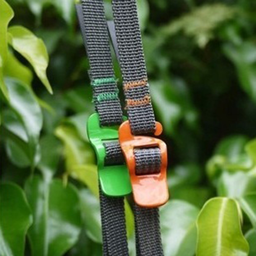 10pcs EDC tool outdoor camping equipment Stainles steel straps baggage backpack belt travel luggage strap 2M long Tied ropeFW046