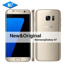 Nouvelle D'origine Samsung Galaxy S7 SmartPhone 5.1 pouce 4 GB RAM 32 GB ROM Octa Core NFC GPS 12MP 4G LTE mobile Étanche téléphone