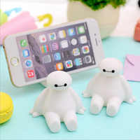 Baymax ABS Car Style cute mobile phone holder Stand rings Cute Cartoon Phone Support Tablet Holder