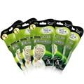8 pçs/lote lahar power rosto máscara de lama vulcânica limpeza profunda clareamento hidratante nutritivo anti-envelhecimento anti rugas máscara facial